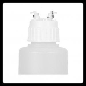 Zubehör - 1 Liter Vakuumflasche (mit Deckel und Vakuum-Schnellverschlüsse)