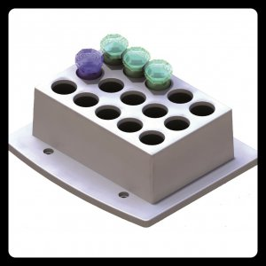 Zubehör - Wechselblock M - 15 x 5 ml Reaktionsgefäße