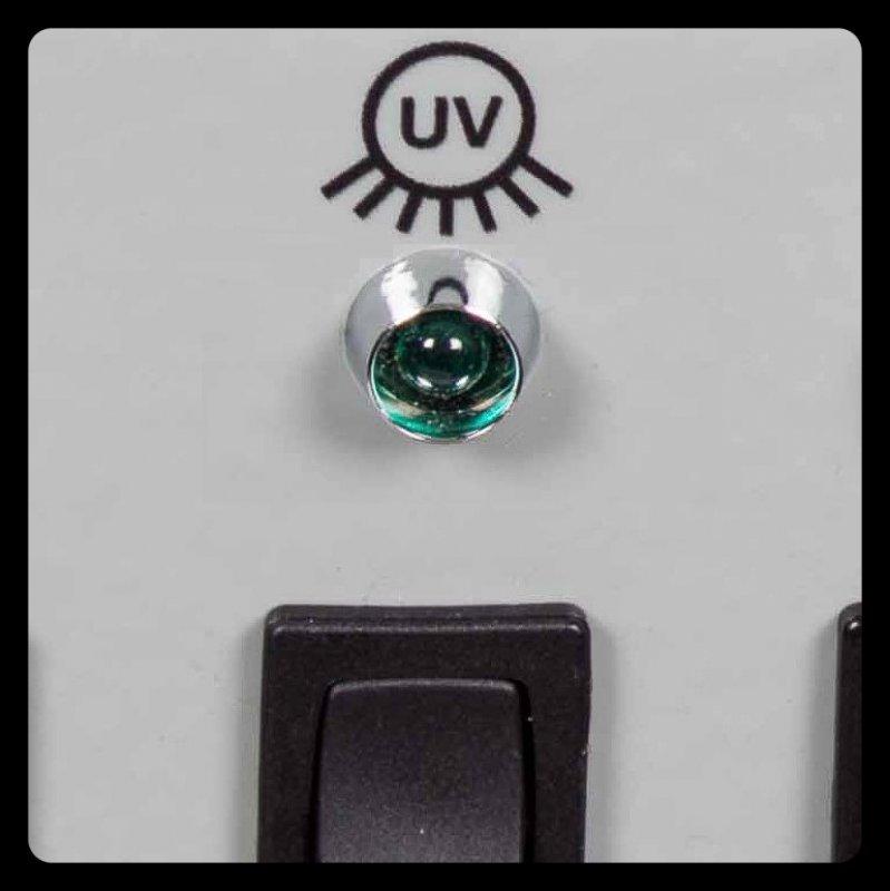 Zubehör - Option UV-Strahler / Lampe, 254 nm